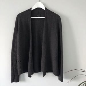 Eileen Fisher Wool Italian Yarn Cardigan Sweater
